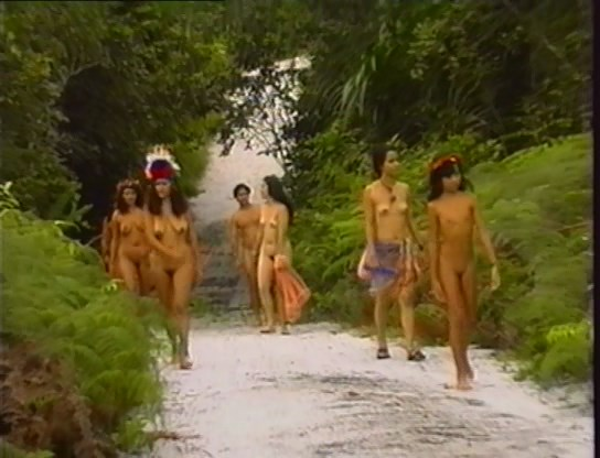 Naturists in the Rainforest (family nudism, family naturism, young naturism, naked girls)