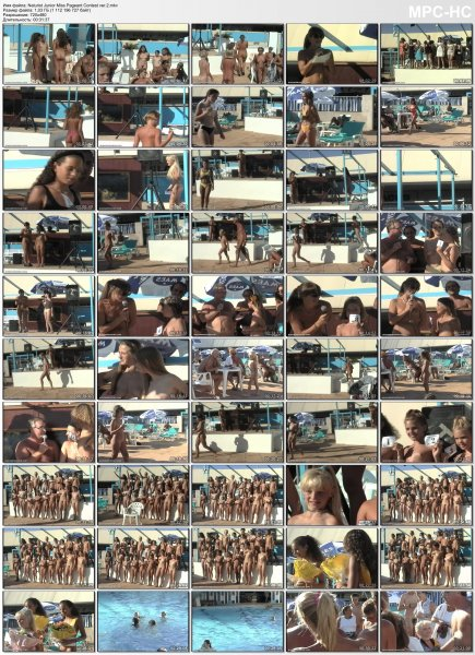 Naturist Junior Miss Pageant Contest ver.2 (family nudism, family naturism, young naturism, naked girls, naked boys)