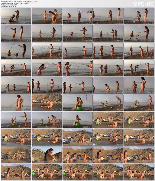 Nature Girls Koktebel Fox Bay Nudist Art