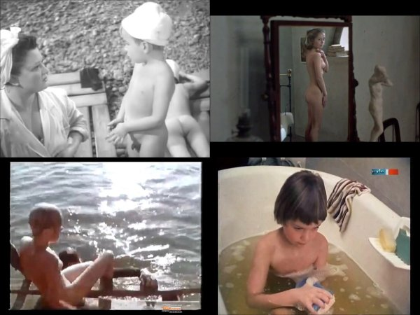 Сollection of fragments #78 (young naturism, naked boys, naked girls)