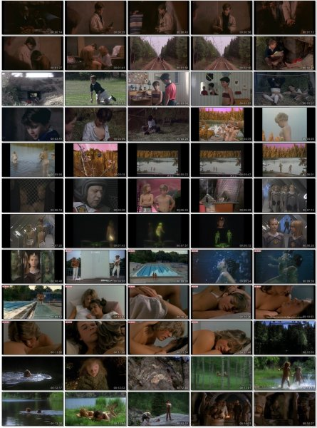 Сollection of fragments #79 (young naturism, naked boys, naked girls)