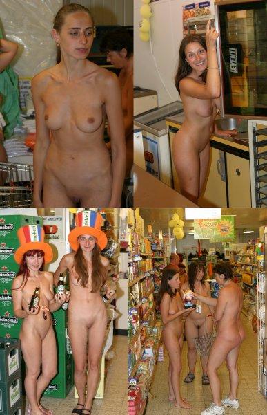 Nudism shoping