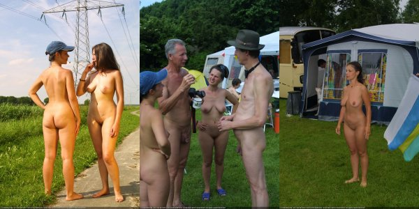 Nudism family camp