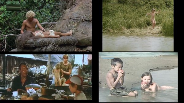 Сollection of fragments #83 (young naturism, naked boys, naked girls)