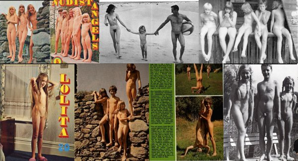 Illustrations from Lolita magazines [selected] (family nudism, family naturism, young naturism, naked boys, naked girls)