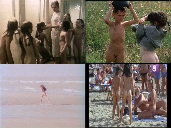 Сollection of fragments #84 (young naturism, naked boys, naked girls)
