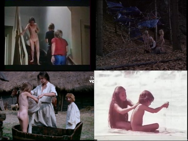Сollection of fragments #85 (young naturism, naked boys, naked girls)
