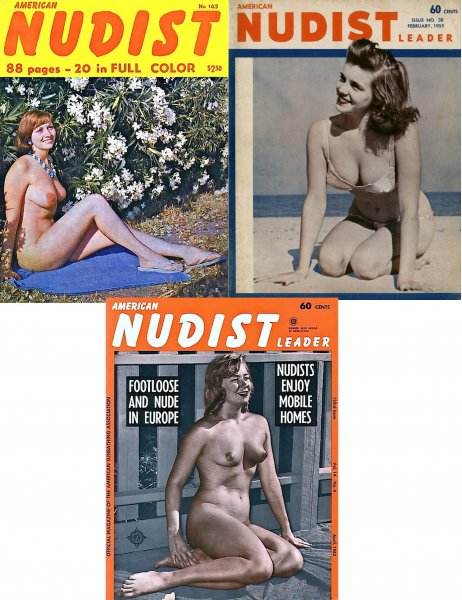 American Nudist Leader (selection of magazines )