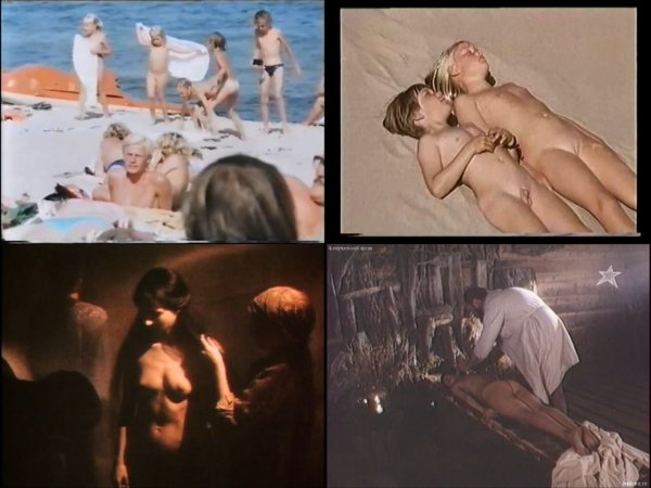 Сollection of fragments #92 (young naturism, naked boys, naked girls)