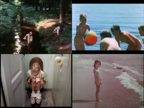 Сollection of fragments #93 (young naturism, naked boys, naked girls)