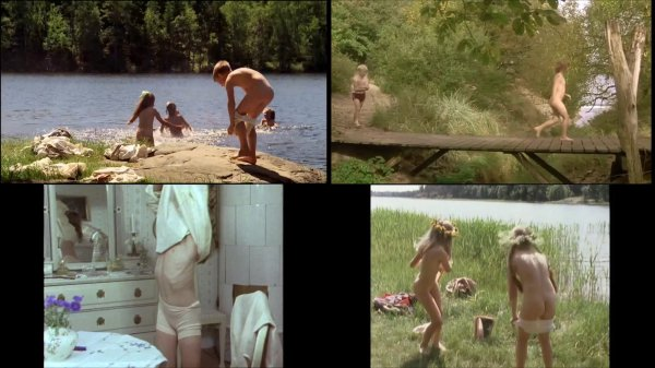 Сollection of fragments #97 (young naturism, naked boys, naked girls)