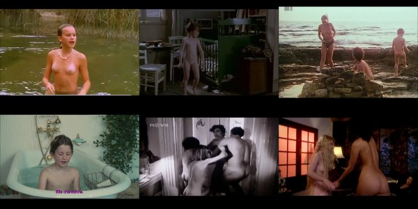 Сollection of fragments #98 (young naturism, naked boys, naked girls)
