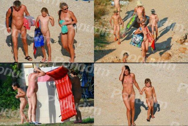 Ula FKK Beach 1 (family nudism, family naturism, young naturism, naked boys, naked girls)