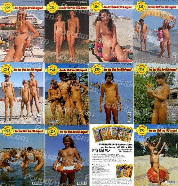 Sonnenfreunde 6 (young naturism, naked boys, naked girls)