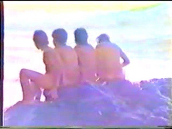Nude boys on the beach (nudism, naturism, naked boys, nude beach)